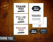 Mod Thank You and Referral Client Card