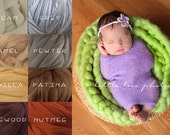 Newborn Wool Posing Braid (Brown Colors)