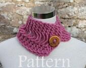 knitting pattern - Margharita neckwarmer - Listing35