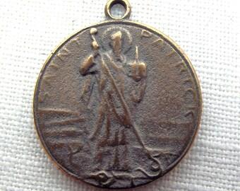 Bronze St. Patrick Medal VP766