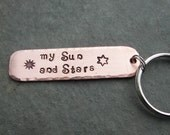 Game of Thrones Inspired Keychain  my Sun and Stars.