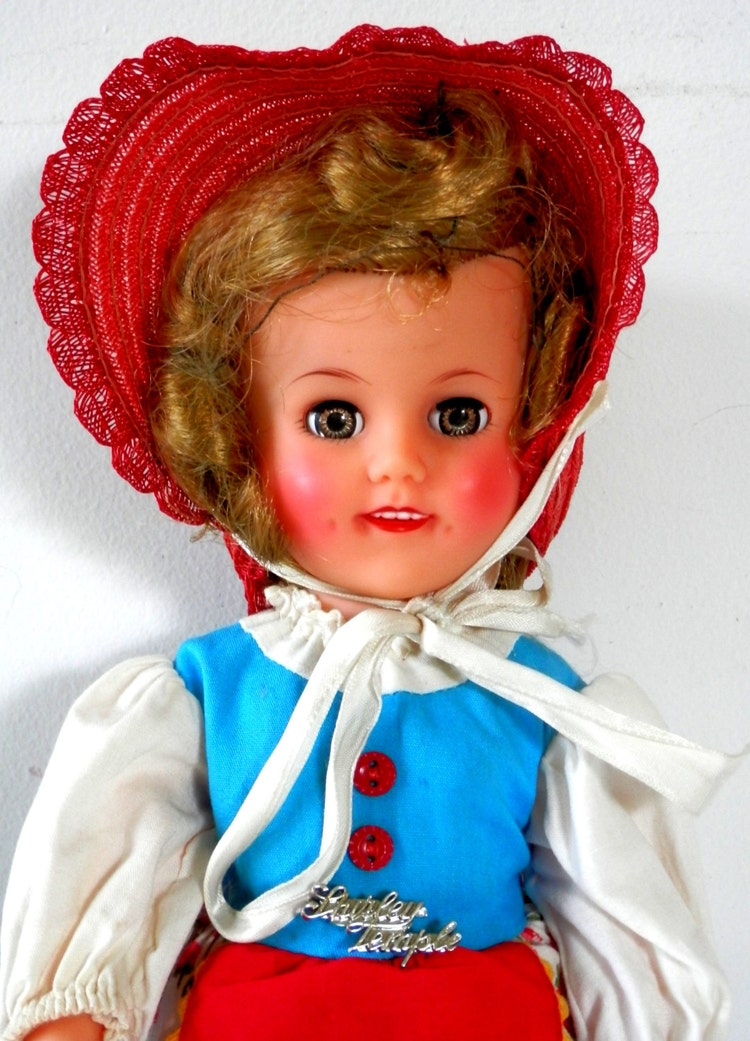 Shirley Temple Doll Little Bo Peep With Original By