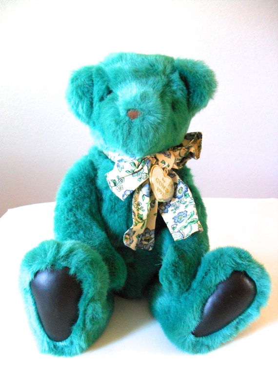 Vintage Teddy Bear 1992 Limited Edition Gund By Nevermoregifts