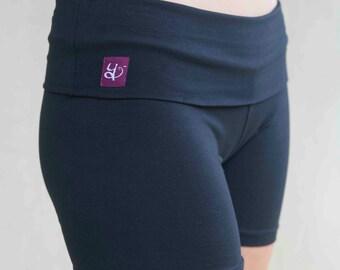 Cotton Yoga Shorts for Women - 'Trini'