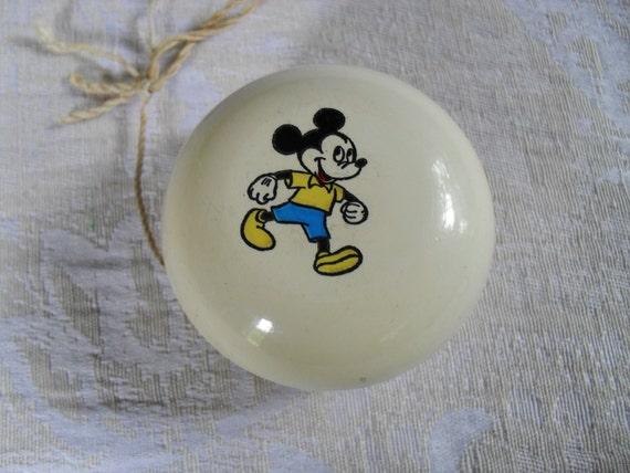 Vintage Mickey Mouse Yoyo