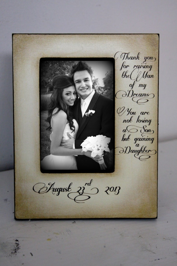 Son In Law Quotes: Wedding Picture Frame For Mom Gifts For Mother In Law Gifts