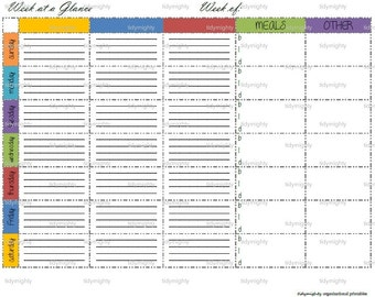 day at a glance calendar template - at a glance holder new calendar template site