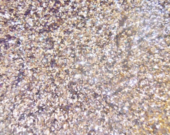 """SALE Solvent Resistant Glitter Sand Glitter Sq 008"""" 1 Ounce Glitter for Crafts Nail Polish Cards Decorating"""
