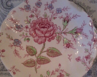 JOHNSON BROS Rose Chintz  Dessert Plate.