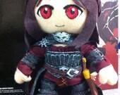 Serana Skyrim custom character plush COMMISSION For customer READ