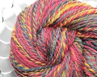 Handspun Yarn - The Barn - Falkland wool, heavy worsted weight, 338 yards