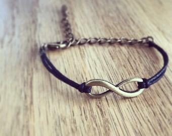 Simple Infinity Bracelet
