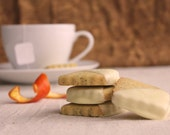 Shortbread Cookie Earl Grey With Orange Zest Scottish Biscuit