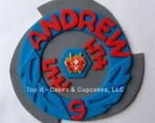 Fondant Cake Topper - Pegasus Beyblade