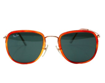 Vintage Ray Ban  Bausch and Lomb Tortoise Sunglasses