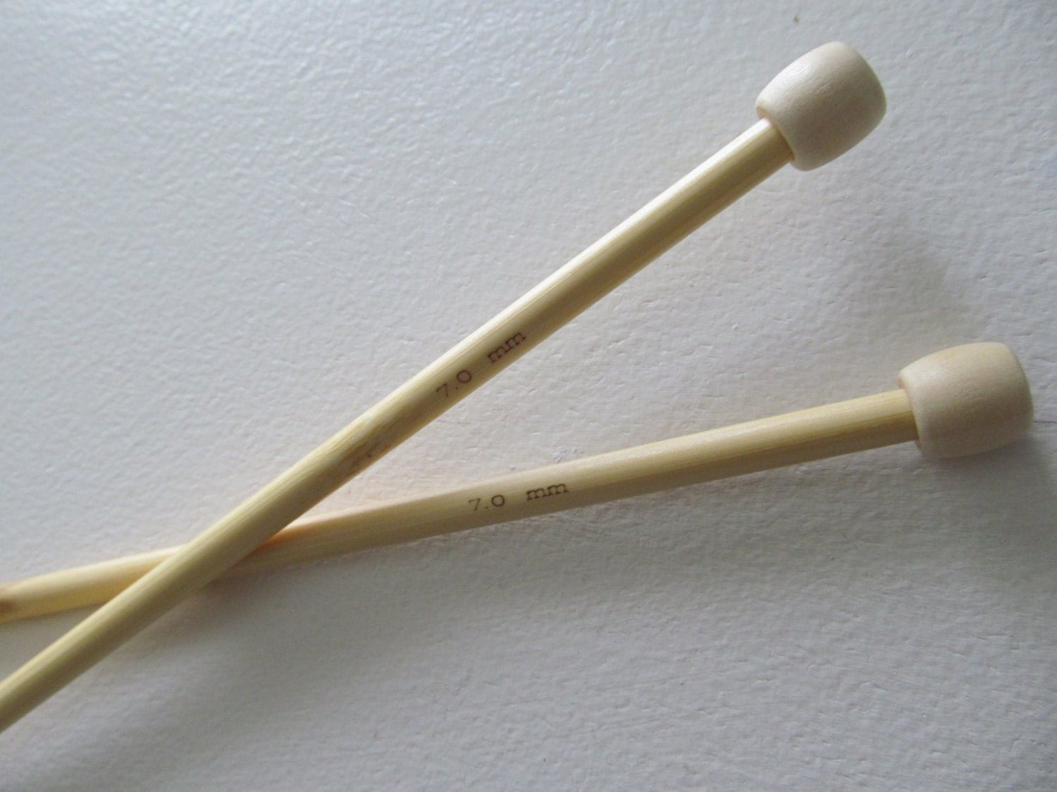 Knitting Needles Mm : Size knitting needles mm bamboo wooden by lacywork