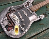 Industrual Steampunk Stratocaster
