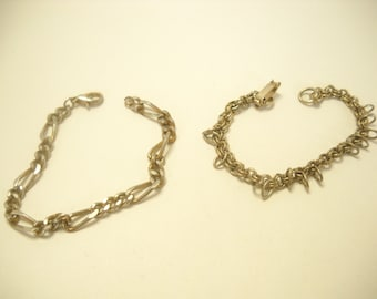 Vintage CHARM BRACELETS (4573) No Charms Included
