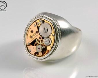 Time Seal Ring - Machinarium Collection