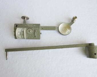 Vintage  Dietzgen Planimeter, Vintage Drafting Tools, Polar Planimeter, Engineer Tools