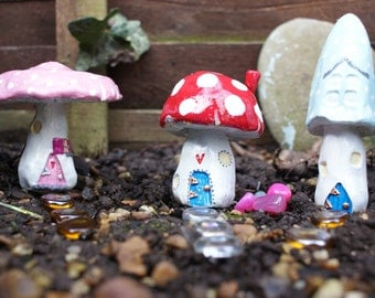 Fairy Toadstool house for your garden