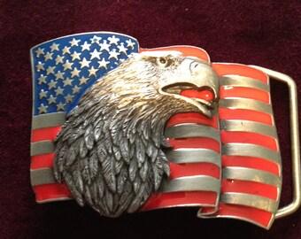 Bald Eagle Buckle