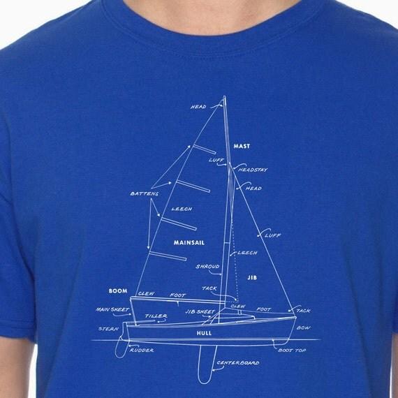Items similar to sailboat tshirt boat t shirt cool tshirt for Women s fishing t shirts