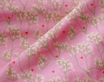 Smitten Floral Cotton Fabric Yardage