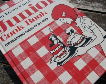 Vintage 1970s Better Homes and Gardens Junior Cookbook