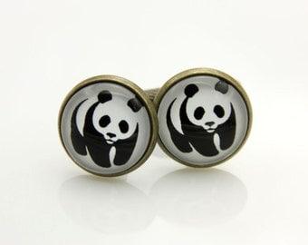Cufflinks panda (1616)