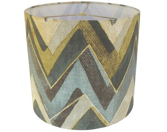 Lamp Shade Lampshade Color Field by Robert Allen Truffle Made to Order
