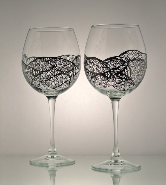 Gallery For Unique Wine Glasses For Women
