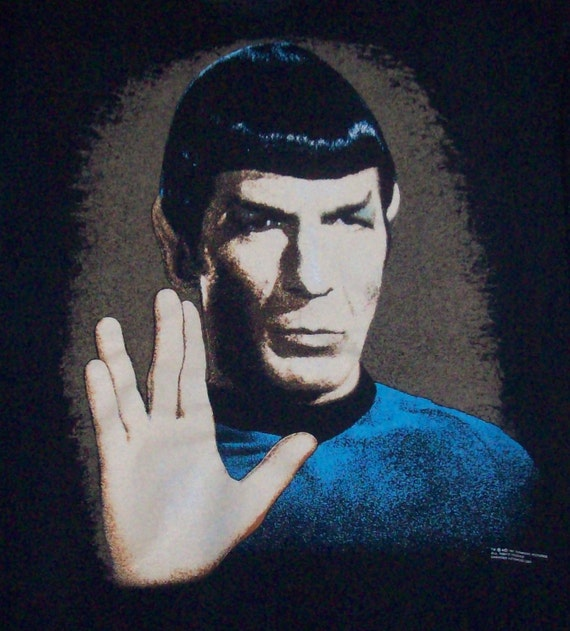 Spock Quotes Live Long And Prosper: Vintage Star Trek. Spock Vulcan Live Long And Prosper XL