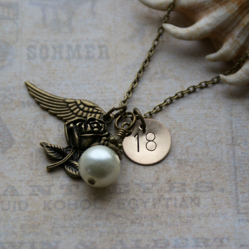 Personalised 18th Birthday Necklace Keepsake By RubysCharms