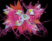 Lorax Puff Flower Bow