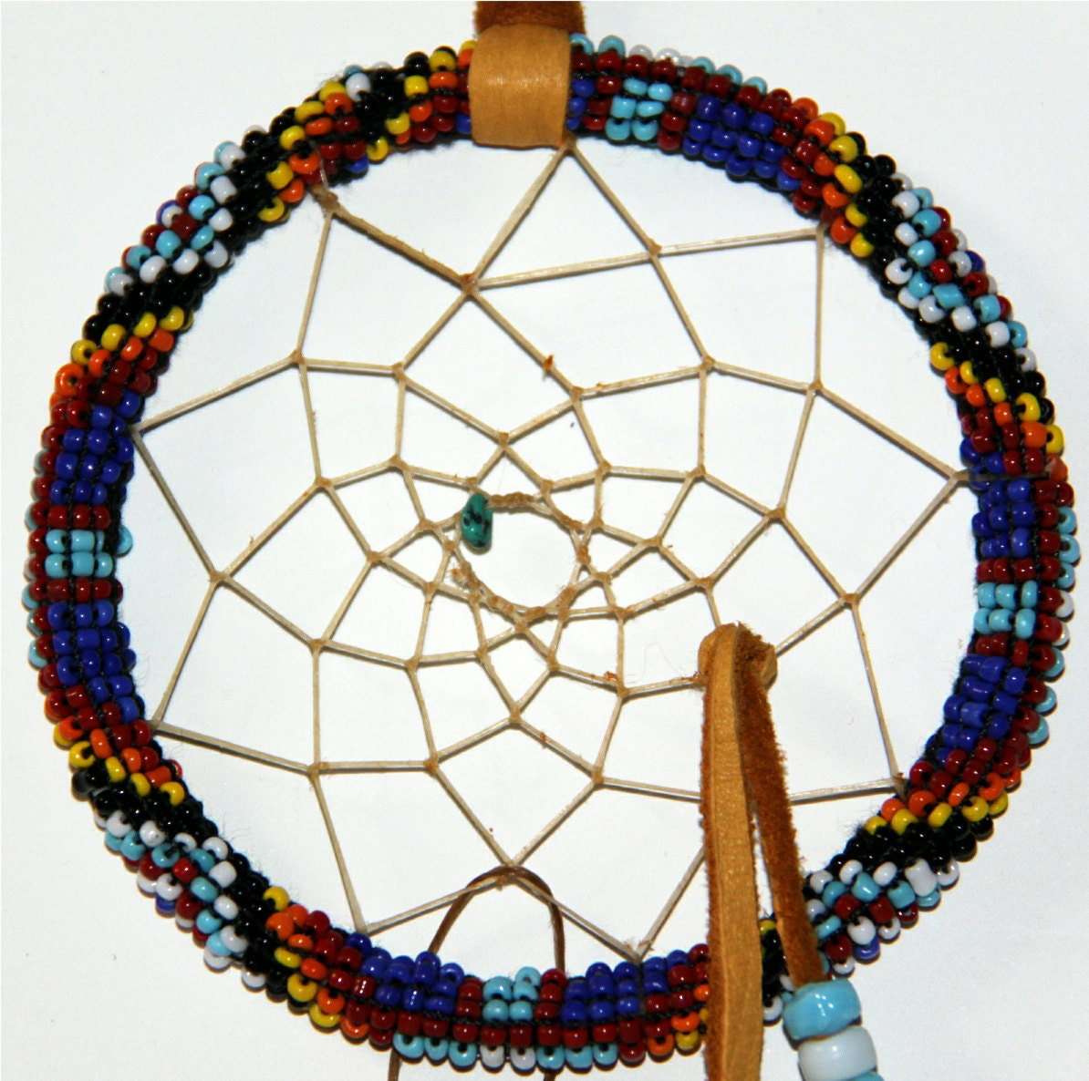 how to make a traditional native american dreamcatcher