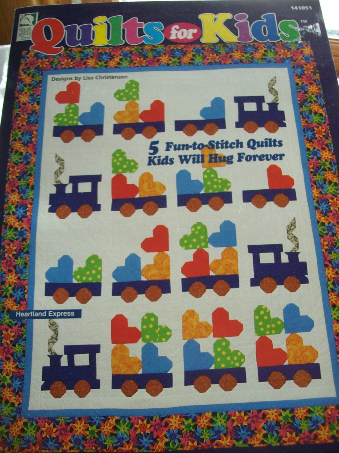 Quilts for Kids Book Train Quilts Bear Quilts by oldoakchair