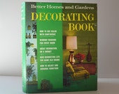 Vintage Better Homes and Gardens Decorating Book 1968