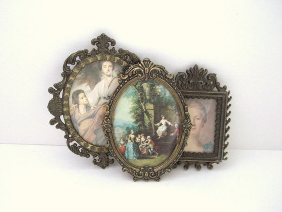 Vintage Art - Collection of Ornate Frames - Sophisticated Ladies
