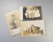 Vintage Photo Postcards 1909-1910 Mitchell South Dakota