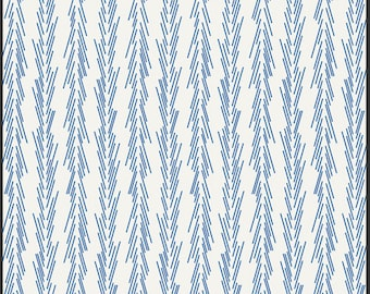 Dulcette Bluestar, Color Me Retro by Jeni Baker for Art Gallery Fabrics 1 Yard Cut