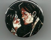 "1.25"" Badge Button Pinback Pin - My Chemical Romance Three Cheers for Sweet Revenge"