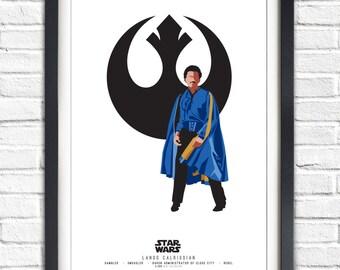Star Wars - Solo Series - Lando Calrissian - 19x13 Poster