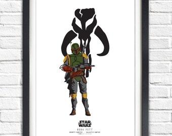 Star Wars - Solo Series - Boba Fett - 19x13 Poster