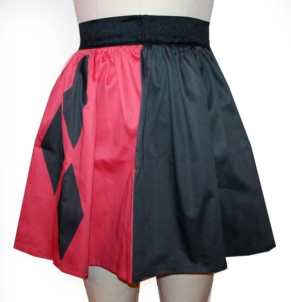 Printed Harley Inspired Skirt