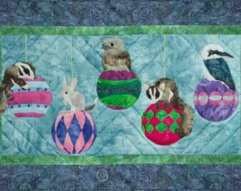 """McKenna Ryan """"Aussie Baubles"""" Quilt Pattern, Chrissy Down Under, Ornaments"""