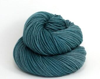 Zeta - Hand Dyed Polwarth Wool and Silk DK Sport Yarn - Colorway: Marquesas