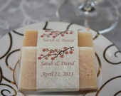 Spring, Cherry Blossom, Beer Soap Wedding Favors- 200