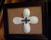 Framed BASEBALL CROSS