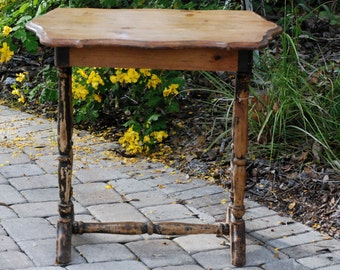 Shabby Chic VINTAGE FarmHouse Natural Wood Table
